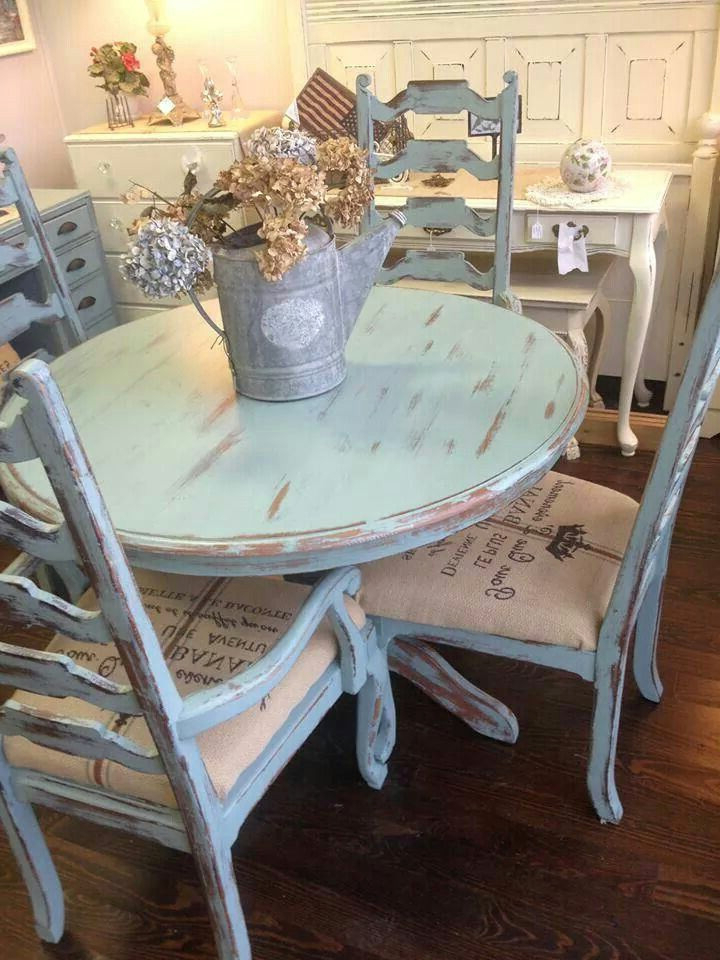 Shabby Chic Dining Sets Regarding Favorite Wonderful 16 Best Images About Tables On Pinterest – Shabby Chic (Gallery 8 of 20)