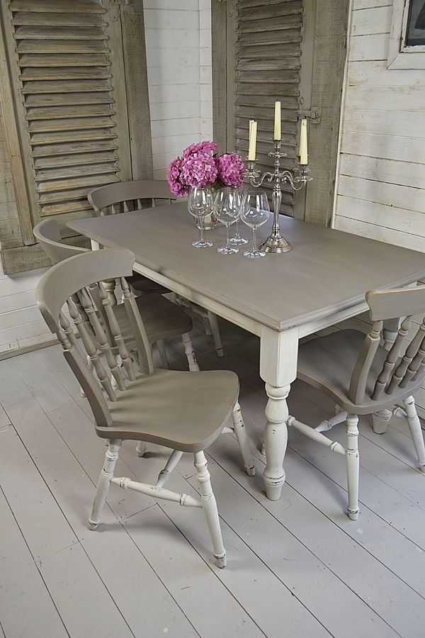 Shabby Dining Tables And Chairs With Preferred Image Result For Country Kitchen Table & Chairs (View 15 of 20)