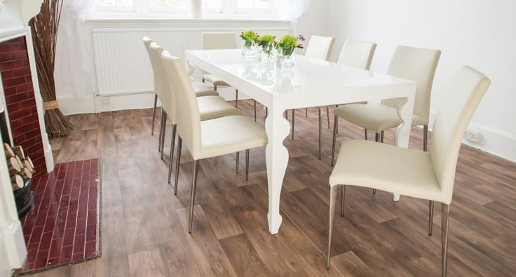 Shapeyourminds With Well Known Large White Gloss Dining Tables (View 17 of 20)