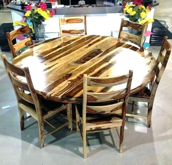 Sheesham Dining Tables 8 Chairs Within Well Known Sheesham Dining Table And Chairs Solid Oak With 4 Used (View 18 of 20)
