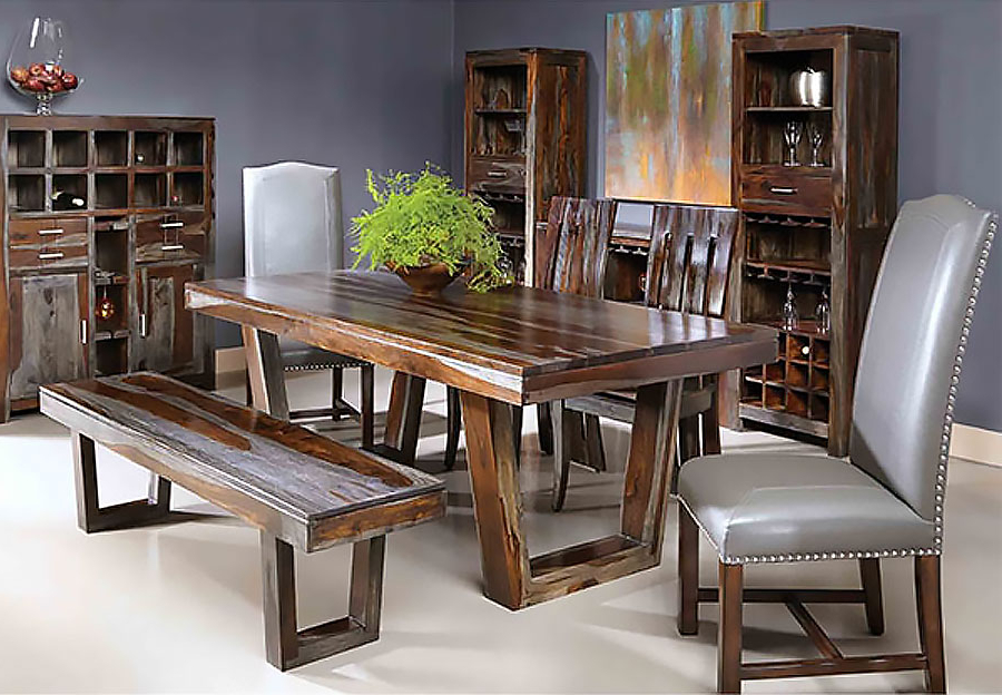 Sheesham Dining Tables Pertaining To Well Liked The Furniture Warehouse – Beautiful Home Furnishings At Affordable (View 7 of 20)