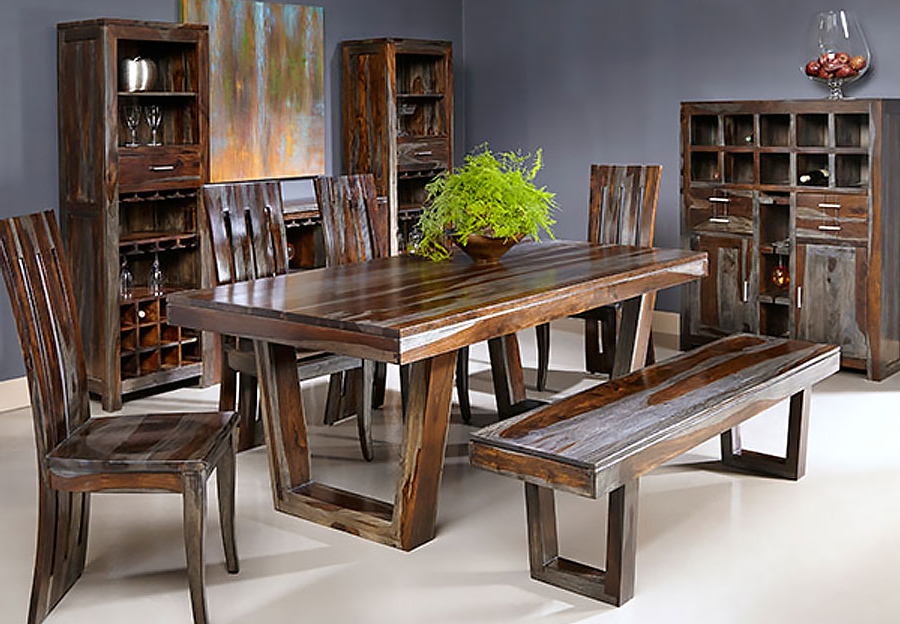 Sheesham Dining Tables Throughout Current Thar Art Gallery::sheesham Wood Dinning Table 6 Chairs,sheesham Wood (Gallery 19 of 20)