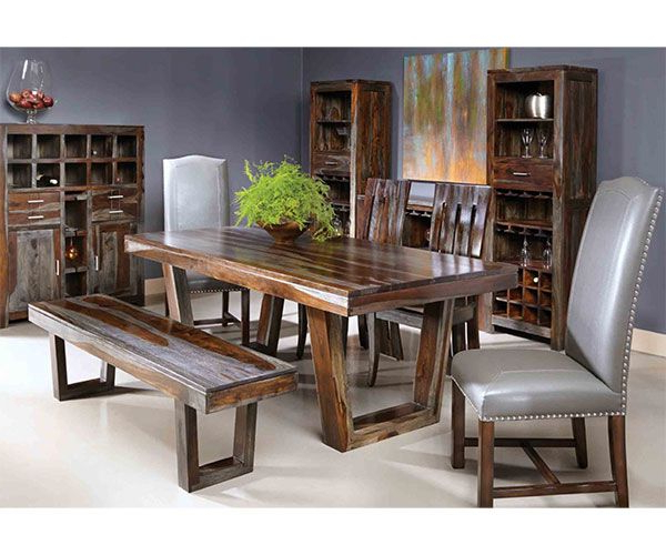 Sheesham Dining Tables Throughout Well Known The Furniture Warehouse – Coast To Coast Greyson Sheesham Dining (View 8 of 20)