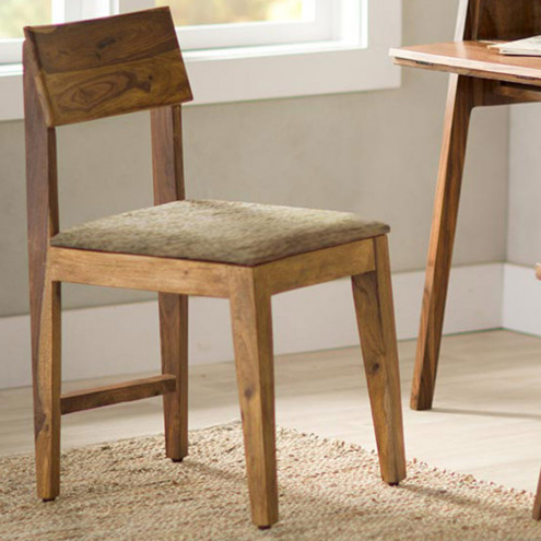 Sheesham Wood Cushioned Dining Chair (Gallery 1 of 20)