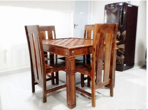 Sheesham Wood Dining Tables Inside Famous Sheesham Wood Dining Table At Rs 40000 /set – Sheesham Home (View 10 of 20)