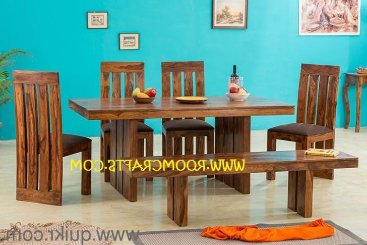 Sheesham Wood Home Furniture Dining Sets Online Furniture Stores With Widely Used Dining Tables Chairs (Gallery 18 of 20)