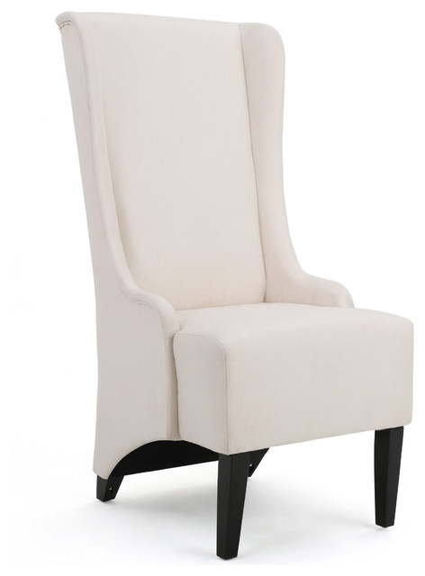 Sheldon Traditional Design High Back Fabric Dining Chair Pertaining To Most Up To Date High Back Dining Chairs (Gallery 1 of 20)