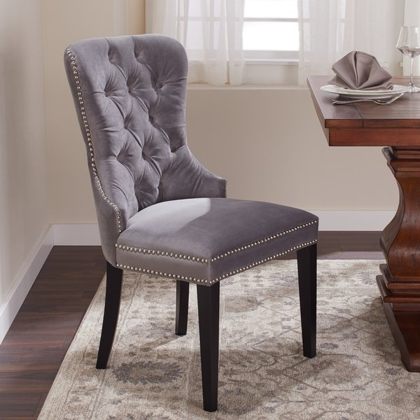 Featured Photo of Pilo Grey Side Chairs