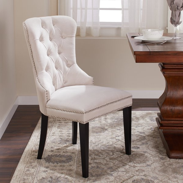 Shop Abbyson Versailles Tufted Velvet Dining Chair – On Sale – Free Intended For 2018 Velvet Dining Chairs (View 11 of 20)
