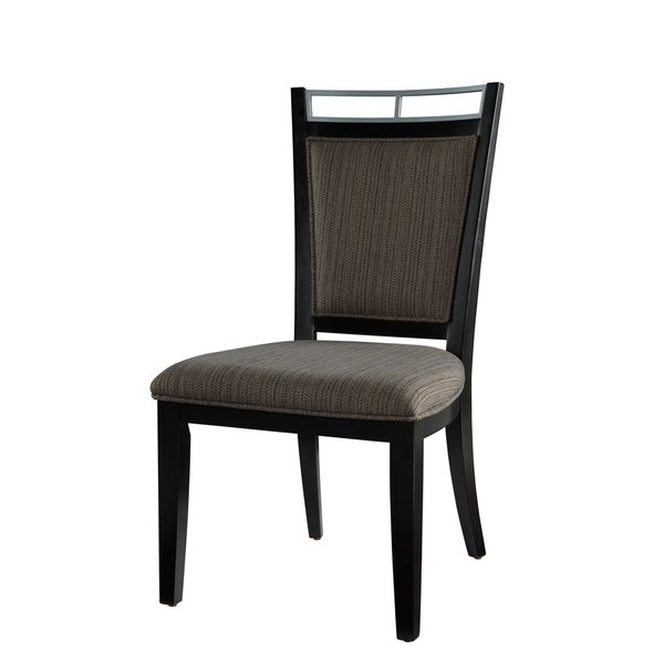 Shop Caden Dining Chair – Free Shipping Today – Overstock – 14585615 For Trendy Caden 5 Piece Round Dining Sets With Upholstered Side Chairs (View 17 of 20)