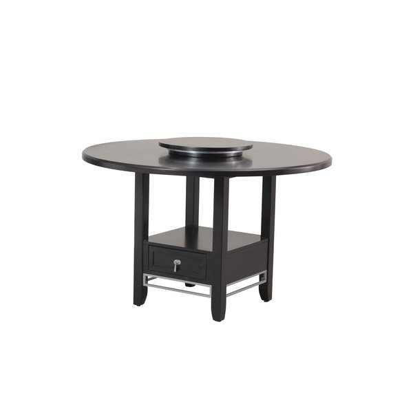 Shop Caden Dining Table – Cappuccino – Free Shipping Today Throughout Most Current Caden Round Dining Tables (View 4 of 20)