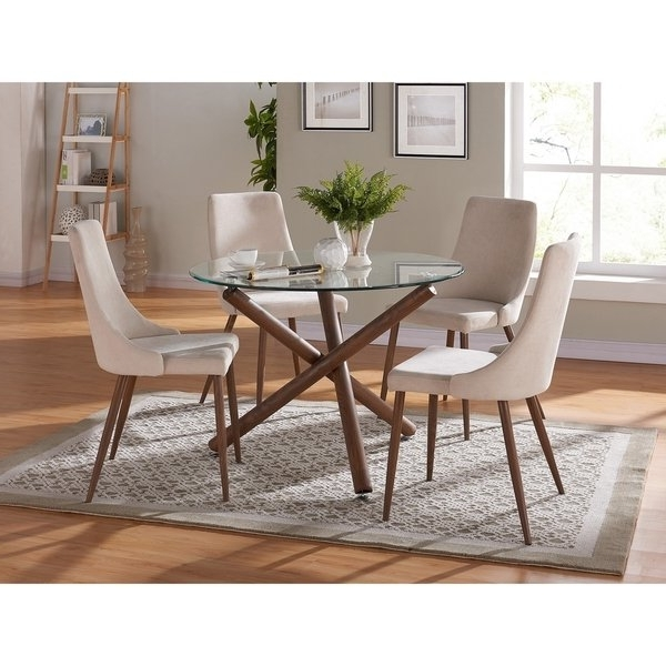 Shop Cora Dining Chair Set Of 2 – Free Shipping Today – Overstock Pertaining To Most Recently Released Cora Dining Tables (View 3 of 20)