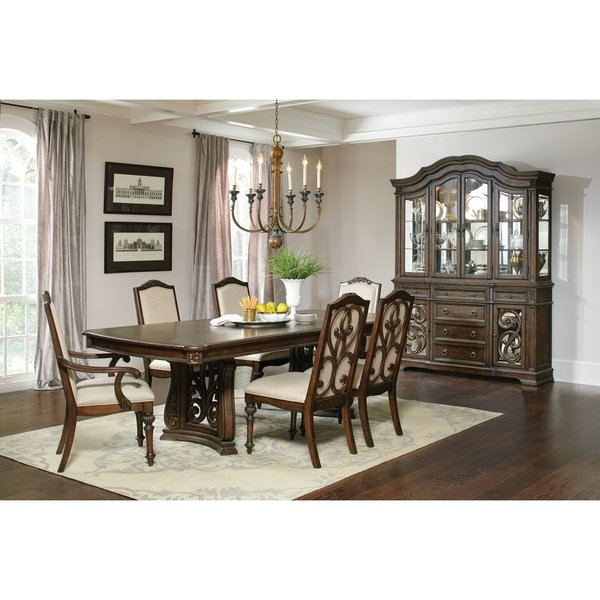 Shop Ilana Traditional Antique Java Formal Dining Table – Brown – On Pertaining To Well Known Java Dining Tables (View 19 of 20)