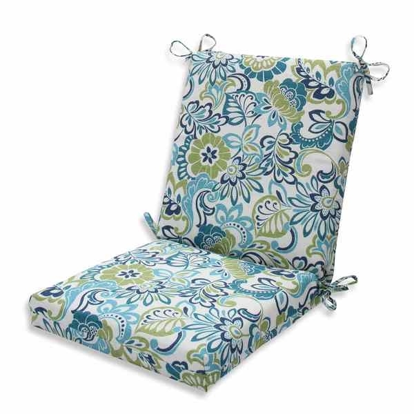 Shop Pillow Perfect Outdoor/ Indoor Zoe Mallard Squared Corners For Newest Mallard Side Chairs With Cushion (View 16 of 20)