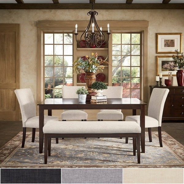 Shop Pranzo Rectangular 66 Inch Extending Dining Table Set With Regard To 2018 Extending Dining Tables Set (Gallery 16 of 20)