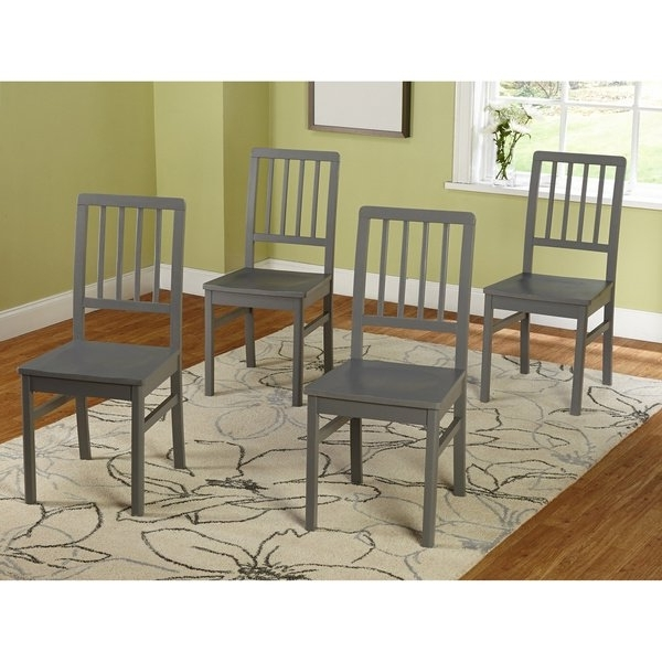 Shop Simple Living Camden Dining Chair (set Of 4) – Free Shipping Pertaining To Widely Used Camden Dining Chairs (View 3 of 20)