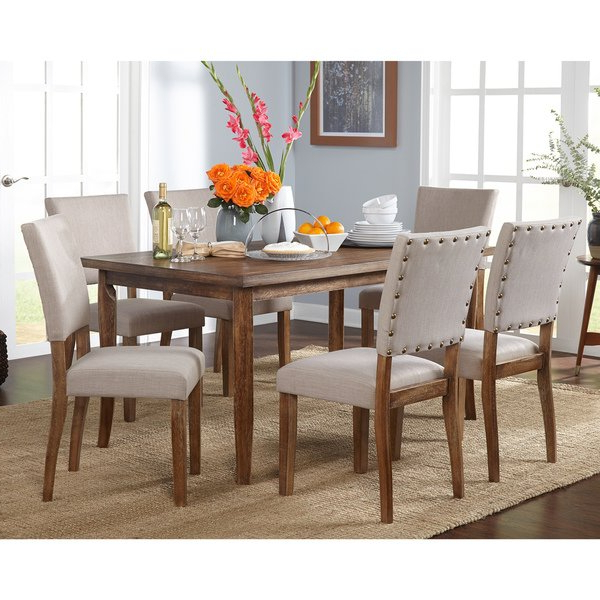 Shop Simple Living Provence Dining Set – On Sale – Free Shipping Pertaining To 2018 Provence Dining Tables (View 11 of 20)