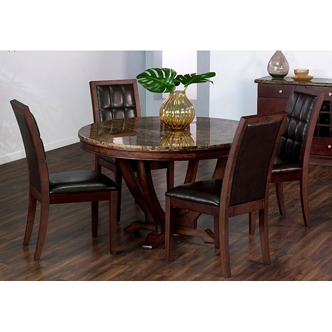 Shop Solid Marble Dining Table – Free Shipping Today – Overstock Regarding Well Known Solid Marble Dining Tables (View 12 of 20)