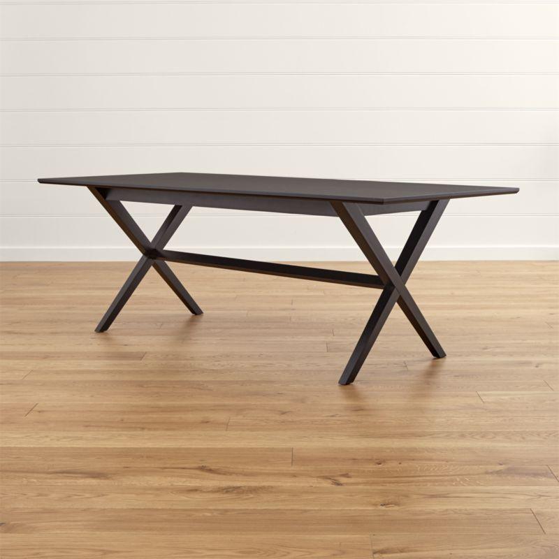 Shop Spotlight Ebony Dining Table (View 16 of 20)