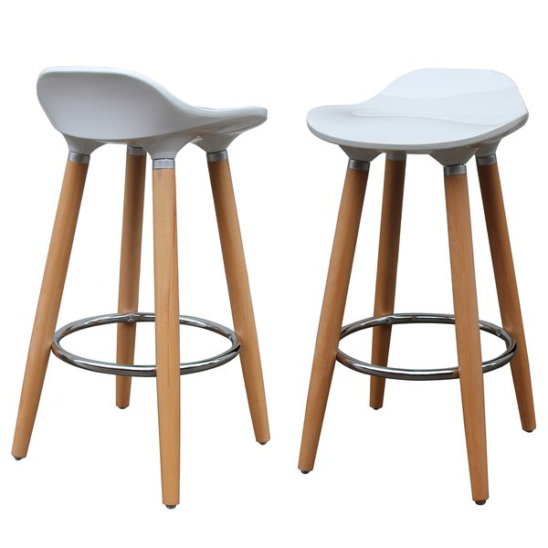 Shop Trex 26 Inch Counter Stool (Set Of 2) – Free Shipping Today Regarding Widely Used Laurent 7 Piece Counter Sets With Upholstered Counterstools (View 18 of 20)