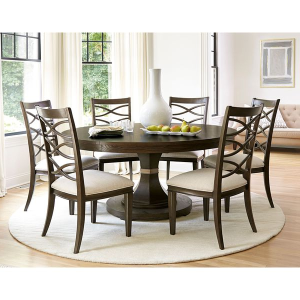 Shop Universal Furniture California Complete Round Table – Free Within Best And Newest Universal Dining Tables (Gallery 20 of 20)