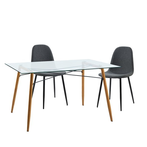 Shop Versanora Minimalista Table And 2 Chairs Dining Set – Free With Current Nora Dining Tables (View 10 of 20)