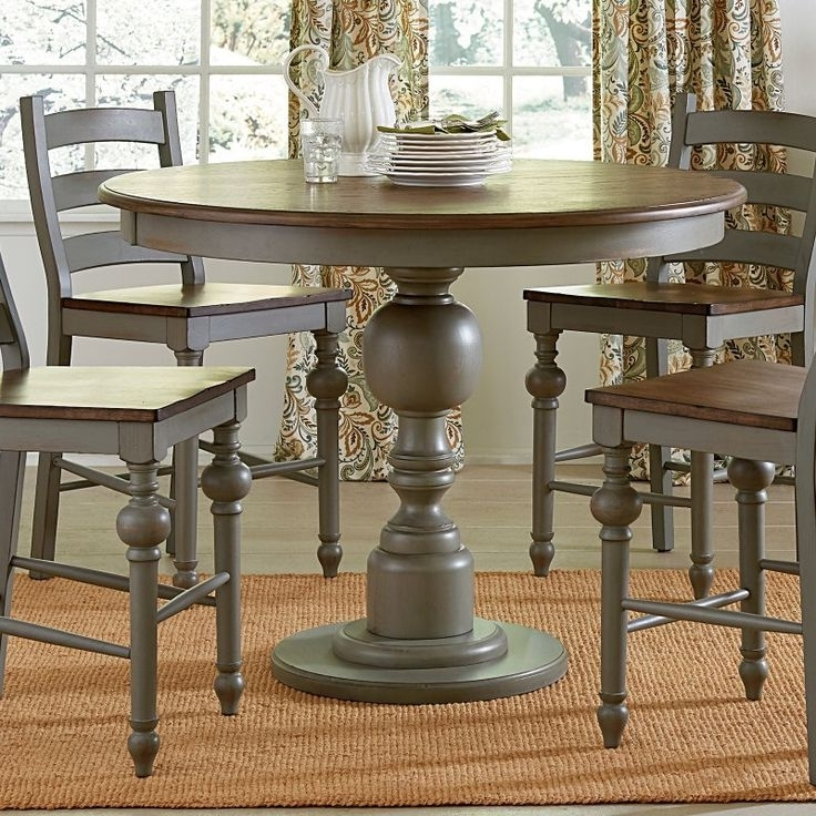 Side Chairs, Dining Intended For Preferred Candice Ii 5 Piece Round Dining Sets With Slat Back Side Chairs (View 15 of 16)