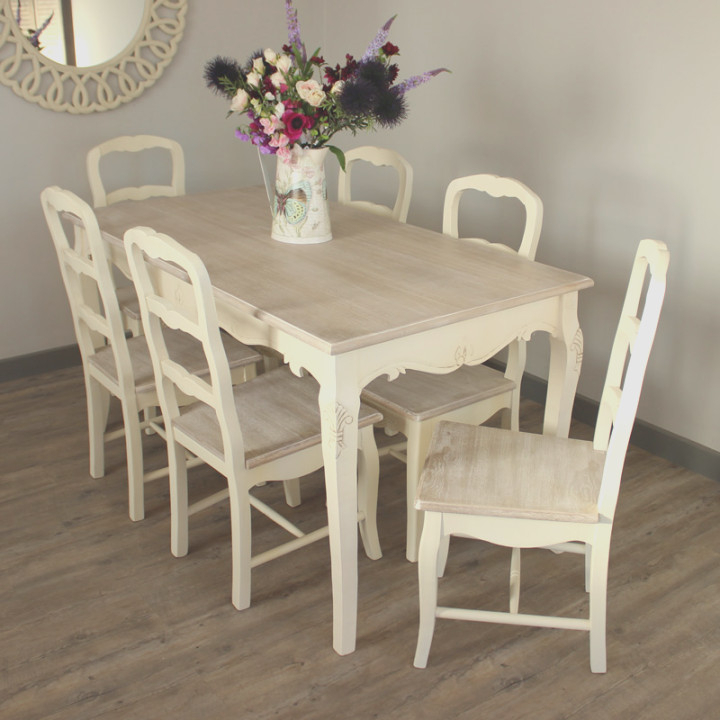 Singingtelegramgifts With Regard To Cream Dining Tables And Chairs (Gallery 9 of 20)
