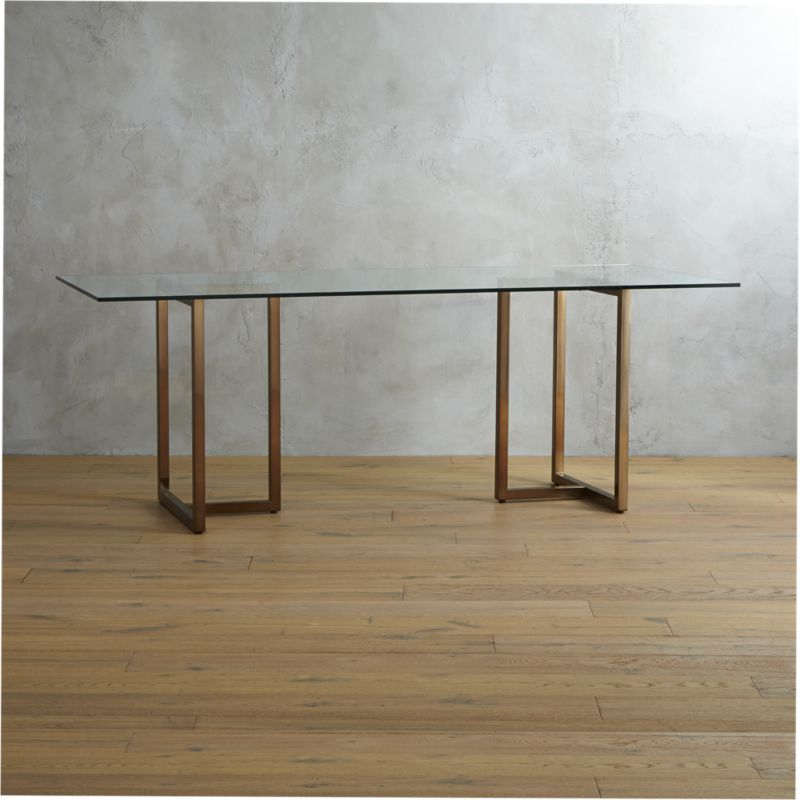 Sleek Dining Tables Regarding Most Up To Date Glass Dining Tables (View 11 of 20)