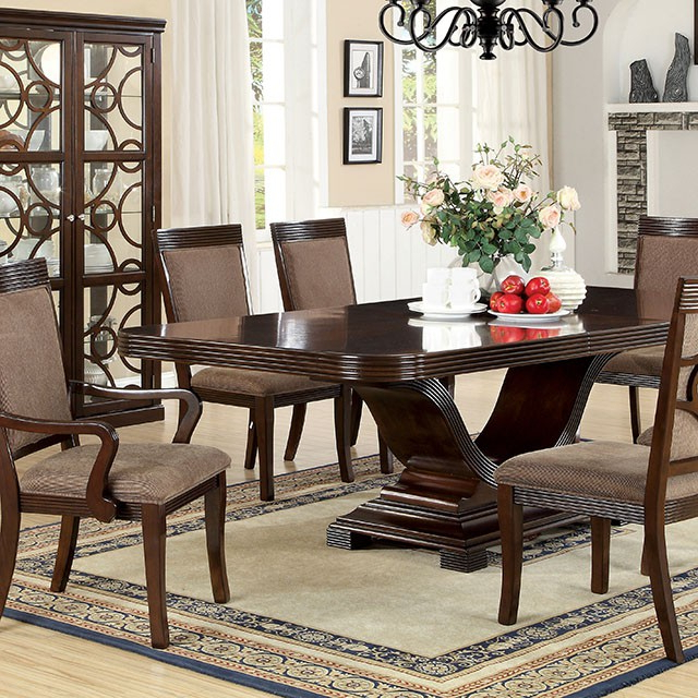 Sleek Dining Tables With Fashionable Formal Dining Sets – Furniture Decor Showroom (View 17 of 20)