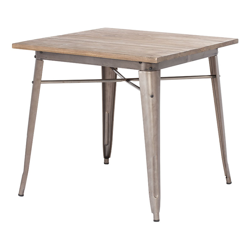 Sleek Dining Tables With Well Known Titus Dining Table Rustic Wood – Modern Dining Tables – Sleek Modern (View 4 of 20)