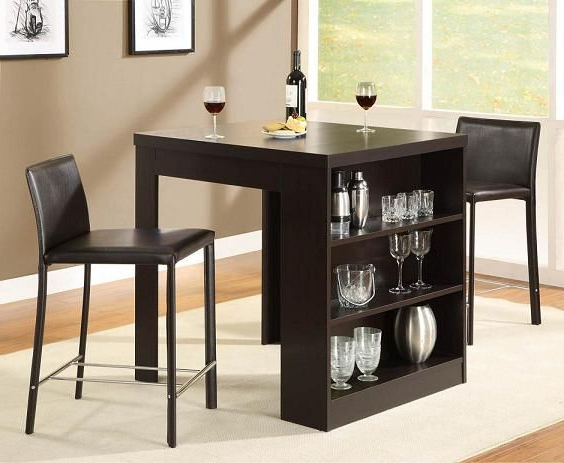 Small Dining Table With Storage (Gallery 2 of 20)