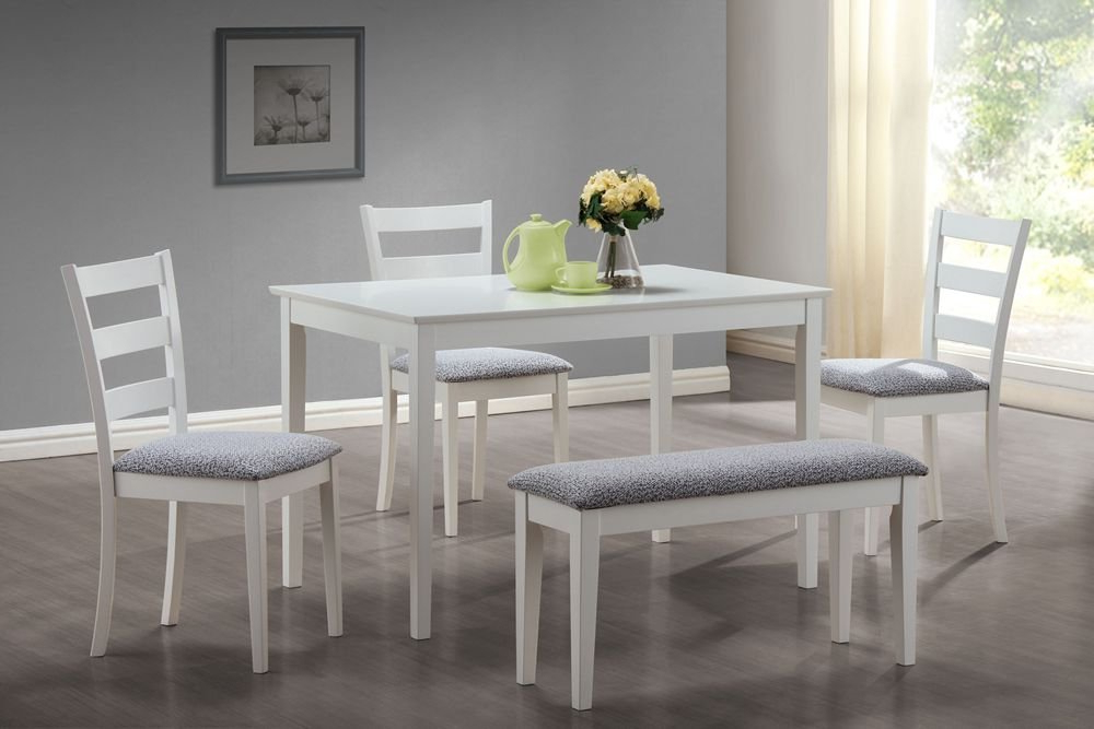 Small Dining Tables And Bench Sets Inside Most Recent Dining Table And Bench Set – Castrophotos (View 7 of 20)