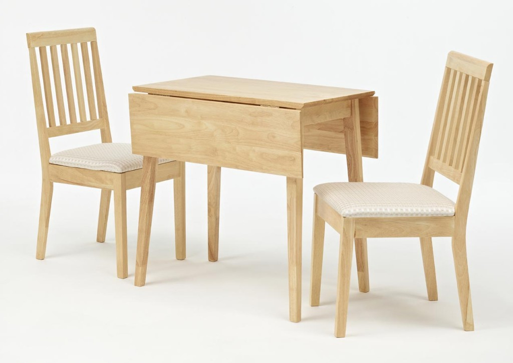 Small Dining Tables For 2 Within 2018 Very Small Kitchen Spaces With Double Drop Leaf Dining Home Goods (View 11 of 20)