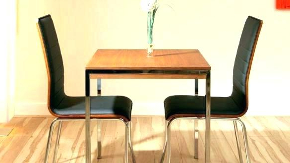 Small Dining Tables With Newest Small Dining Sets For 4 Compact Table Set 2 Wonderful Room Two Round (View 12 of 20)
