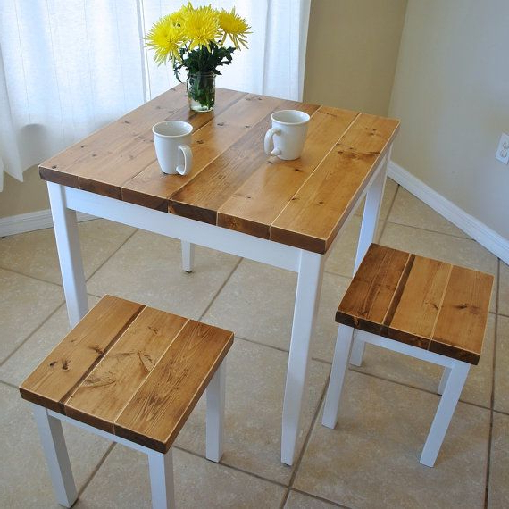 Small Dining Tables With Regard To Fashionable Small Dining Tables For 4 – Xuyuan Tables (Gallery 7 of 20)