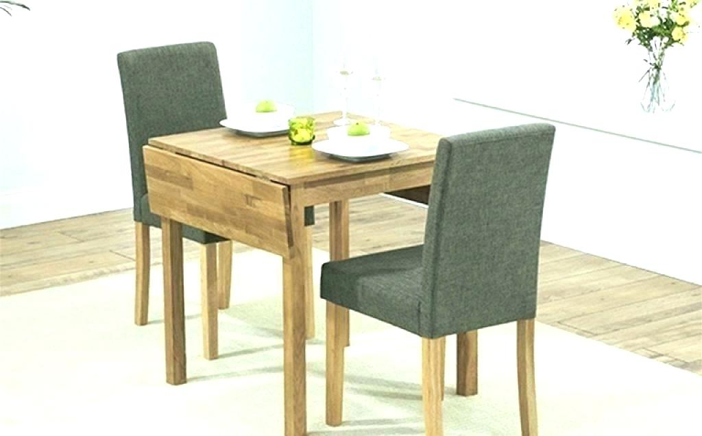 Small Drop Leaf Kitchen Table 2 Chairs Two Seat Kitchen Tables 2 Throughout Newest Two Seat Dining Tables (Gallery 5 of 20)