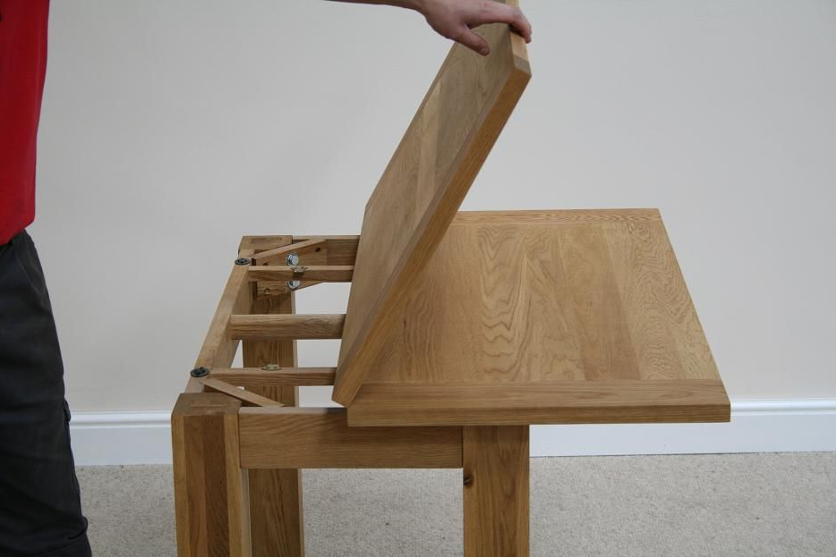 Small Extending Dining Tables And Chairs Regarding Recent Flip Top Dining Tables (View 12 of 20)
