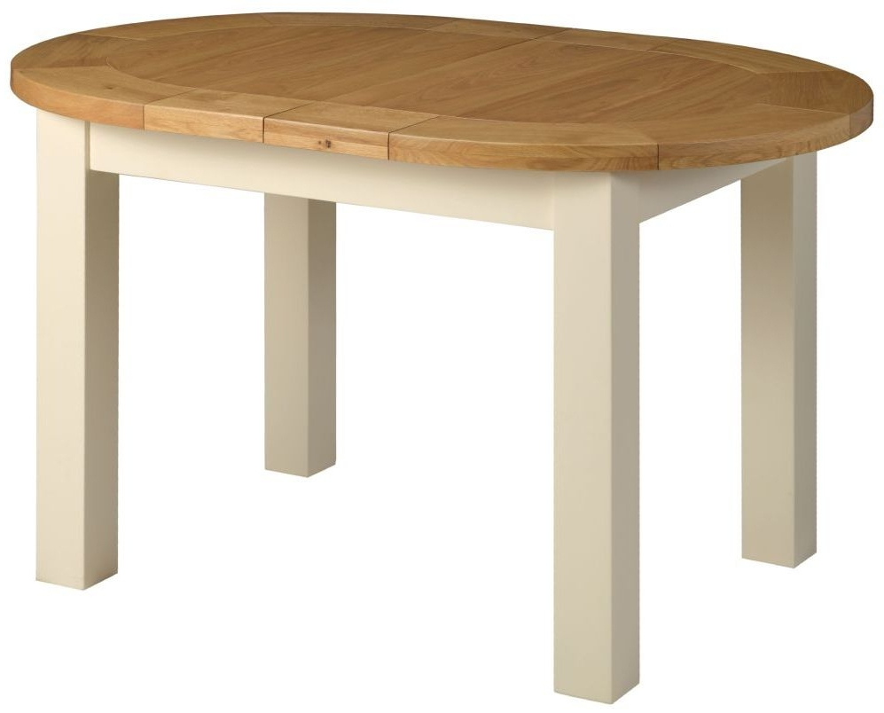 Small Extending Dining Tables With Best And Newest Buy Devonshire Lundy Painted Small Oval D End Extending Dining Table (View 10 of 20)