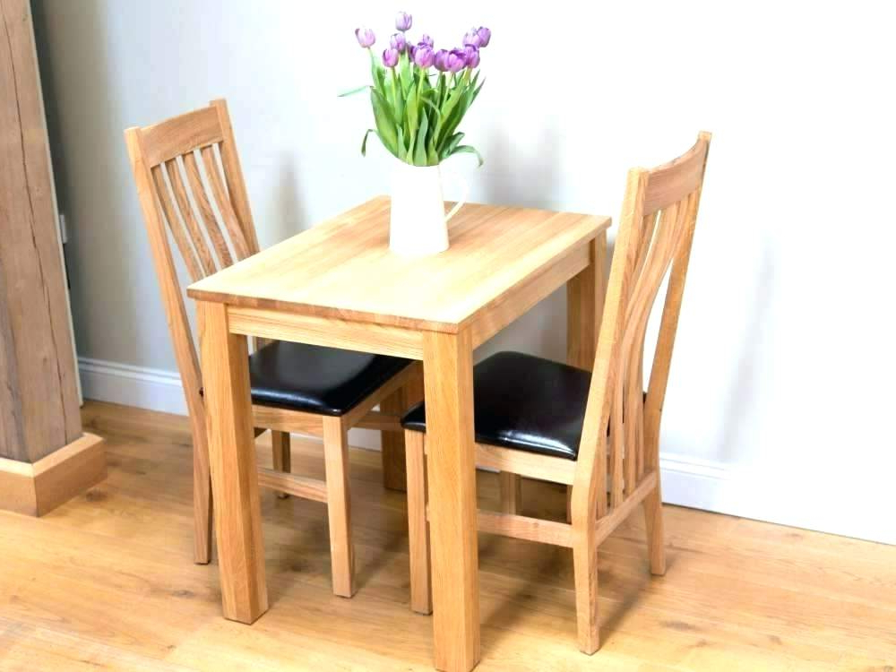 Small Kitchen Tables For Two Two Seat Kitchen Tables 2 Oak Dining Throughout Preferred Two Chair Dining Tables (View 12 of 20)
