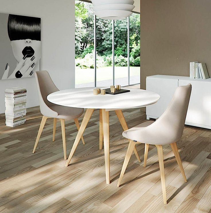 Small Round White Dining Tables Intended For 2018 Dining Tables (View 10 of 20)
