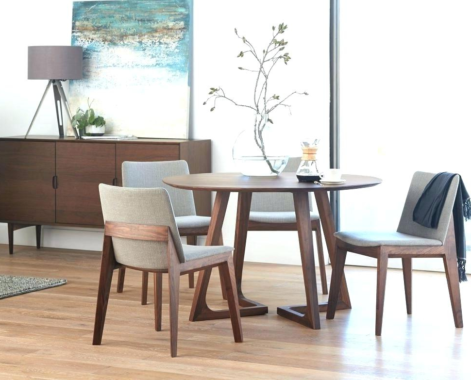 Small Wood Dining Table And Chairs Solid Room Furniture All Black With Newest Helms 6 Piece Rectangle Dining Sets With Side Chairs (View 19 of 20)