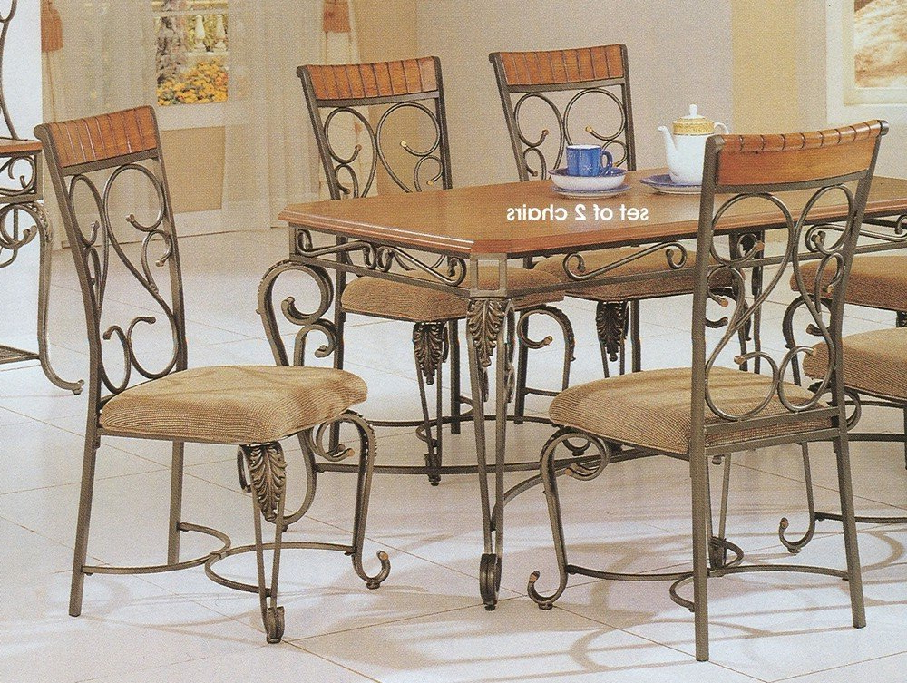 Smartie Dining Tables And Chairs Throughout Recent 5 Best Metal Dining Chairs Durable Metal Sets Tool Box Dining Room (View 15 of 20)