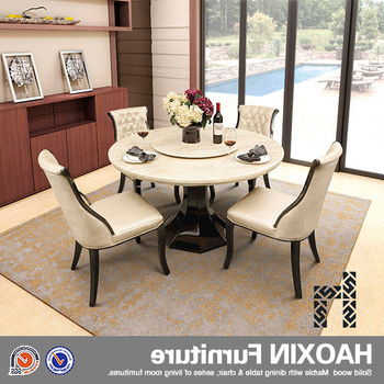 Solid Marble Dining Tables Regarding Most Up To Date Nairobi Round Marble Dining Table And Chairs For Sale – Buy Cheap (View 14 of 20)