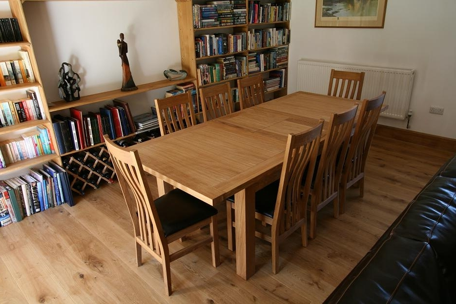 Solid Oak Dining Table Sets (View 13 of 20)