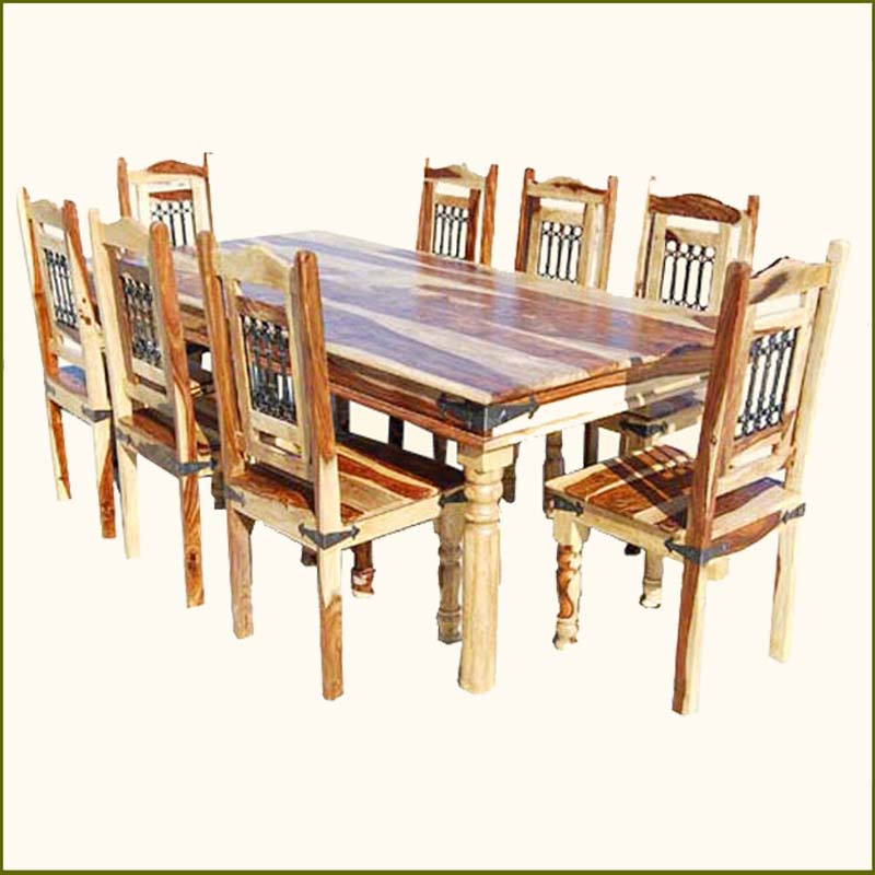 Solid Oak Dining Tables And 8 Chairs Pertaining To 2017 51 Dining Table Set 8 Chairs, Oak Dining Room Table And 8 Chairs (View 15 of 20)