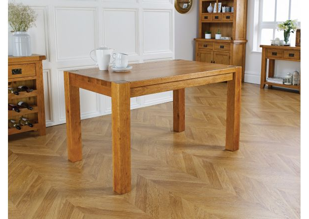 Solid Oak Dining Tables Pertaining To Most Current Oak Dining Tables (Gallery 14 of 20)