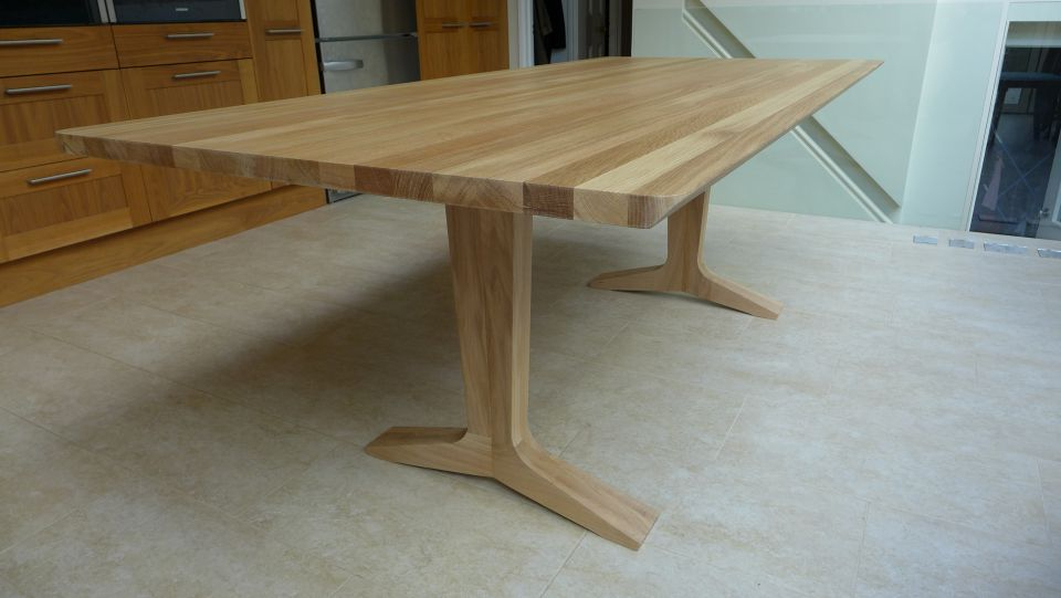 Solid Oak Dining Tables With 2018 Solid Oak Dining Table – Style Within (View 4 of 20)