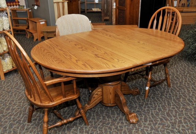 Solid Wood Furniture Inside Solid Oak Dining Tables (View 18 of 20)