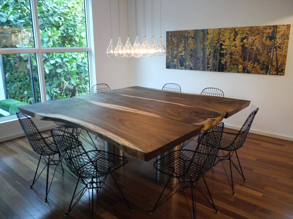Square Dining Table With Leaf Extension – Rayhaywood Pertaining To Most Up To Date Extendable Square Dining Tables (View 3 of 20)